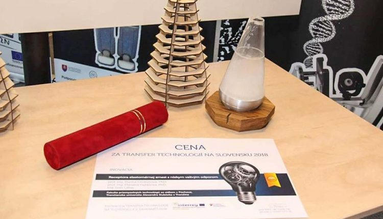 Fakulta priemyselných technológií v Púchove získala ocenenie za priemyselnú inováciu