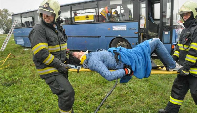 V mesiaci september hasiči vykonali 245 výjazdov