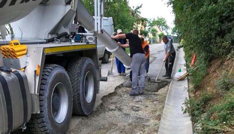 Aj pred voľbami sa ešte bude asfaltovať