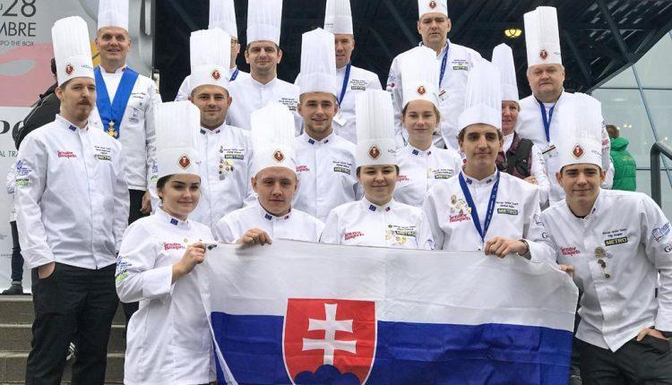 Na Svetovom kulinárskom pohári v Luxembursku sa predstavili aj zástupcovia SOŠ obchodu a služieb v Púchove
