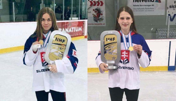 K historickému postupu hokejistiek prispeli aj Romana Halušková s Alžbetou Šulíkovou
