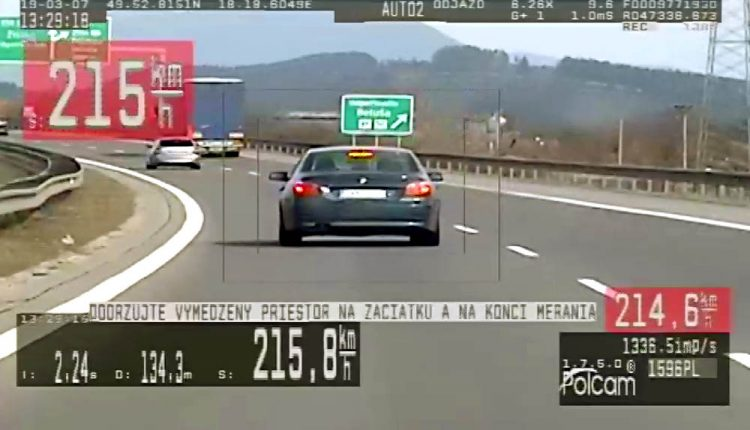 Na BMW sa rútil veľkou rýchlosťou, pri Púchove ho odstavili