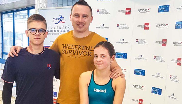 Plavecký klub Matador Púchov na majstrovstvách Slovenska v diaľkovom plávaní