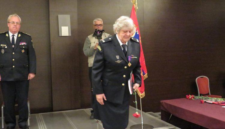 Vyznamenanie pre členku Dobrovoľného hasičského zboru mesta Púchov