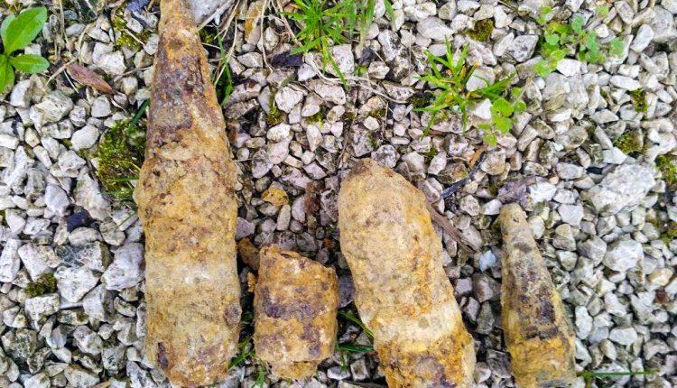 FOTO: Neďaleko Púchova našli muníciu z druhej svetovej vojny