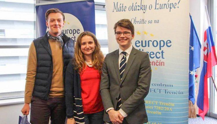 Gymnazisti z Púchova sa stali víťazom regionálneho kola súťaže Mladý Európan