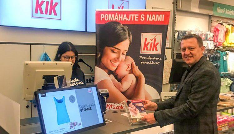 Spoločnosť KiK organizuje verejnú zbierku pre Nadáciu Križovatka