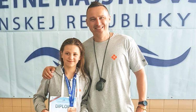 Skvelý úspech Simony Ciesarovej: dva bronzy z majstrovstiev Slovenska