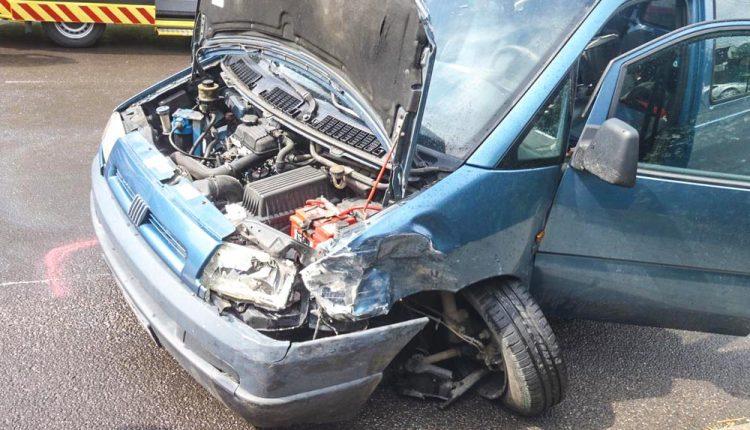 Dopravná nehoda troch vozidiel v obci Záriečie