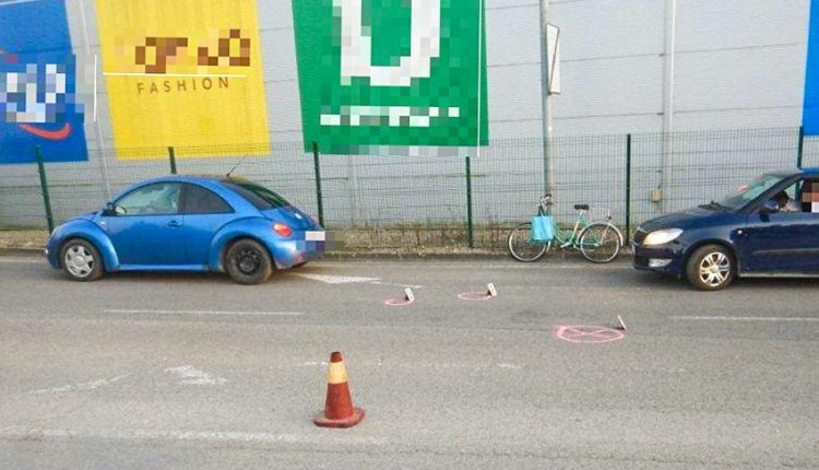 FOTO: Nevenovala sa jazde a narazila do 77-ročnej cyklistky