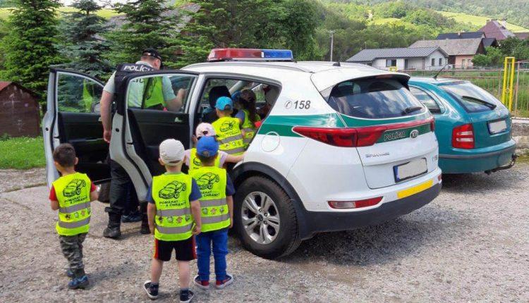 Policajti navštívili materskú školu