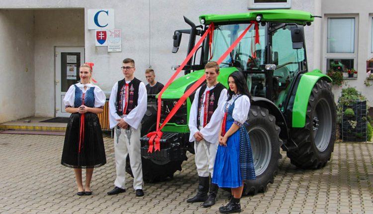 Jediná poľnohospodárska škola v kraji oslávila 70. výročie, k jubileu dostala nový traktor i učebňu