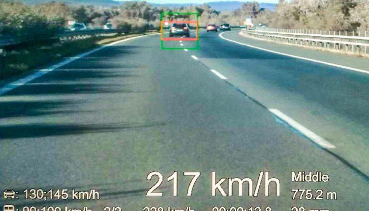 FOTO: Na diaľnici namerali vodičov, rekordér bol z okresu Púchov