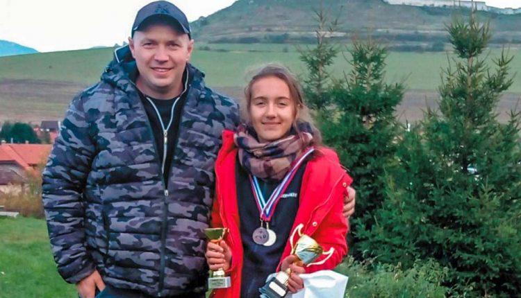 Terezka Srogončíková z DHZ Nosice úspešne ukončila sezónu