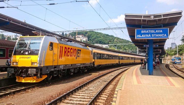 RegioJet spojí vlakmi Púchov sBratislavou, Prahou a Brnom