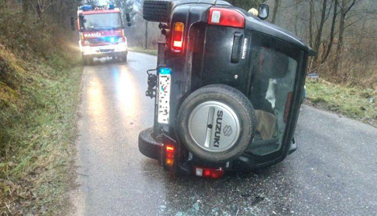 FOTO: Dopravná nehoda pri obci Lysá pod Makytou