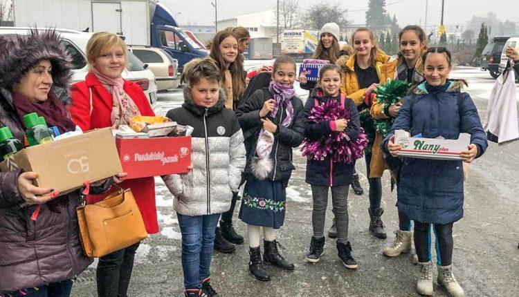 Žiaci ZŠ Gorazdova navštívili seniorov v zariadení Hubertus