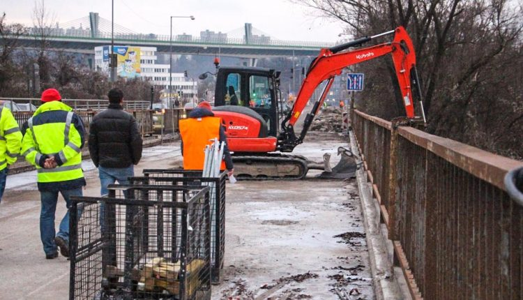 S rekonštrukciou Orlovského mosta sa bude pokračovať na jar