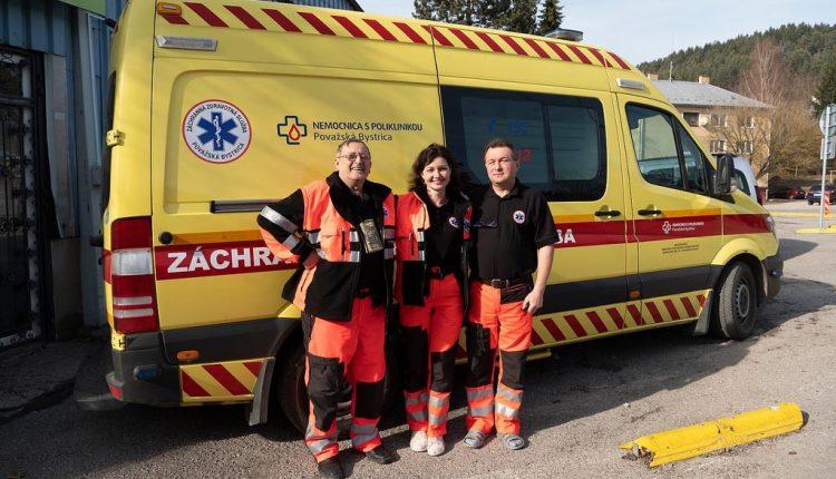 Považskobystrická nemocnica prevádzkuje vlastnú ambulanciu záchrannej zdravotnej služby