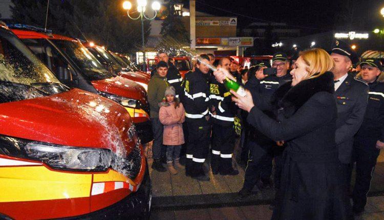 Nová hasičská technika aj v okrese Púchov