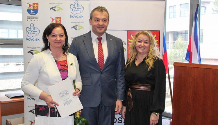 Oceňovanie práce smládežou županom TSK
