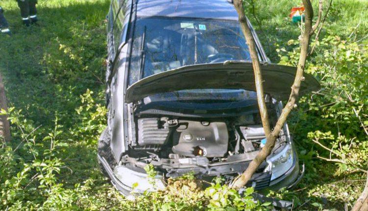 FOTO: Dopravná nehoda pri obci Lúky