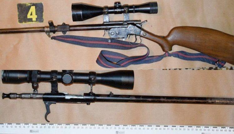 FOTO: V rodinnom dome v okrese Púchov našli zbrane