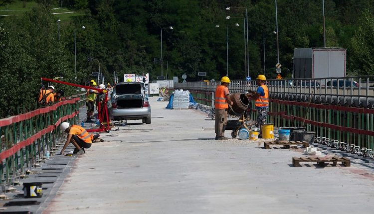 Orlovský most plánuje župa plne sprístupniť do konca roka