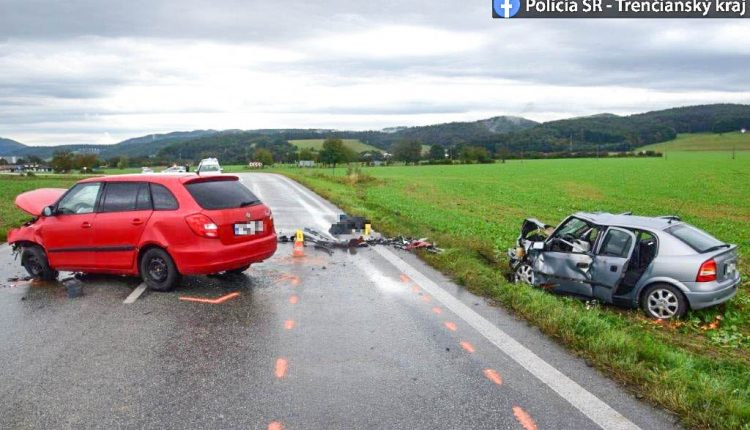 FOTO: Tragická nehoda na Považí, vyhasol jeden život