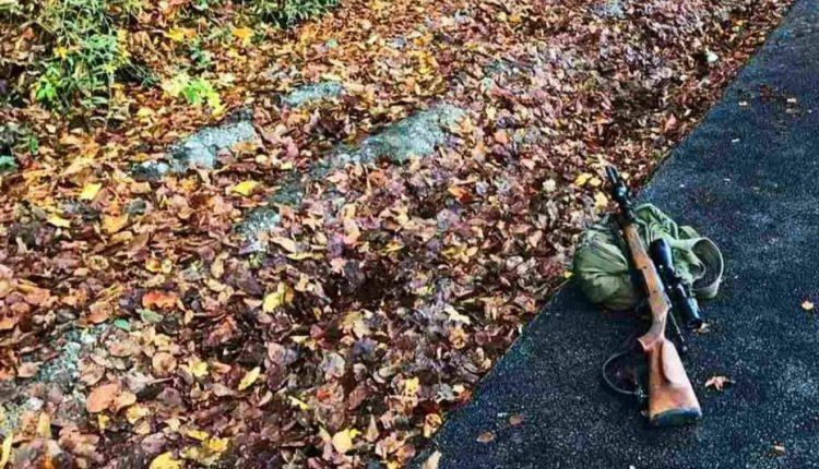 FOTO: Nešťastie na poľovačke, pošmykol sa a vystrelil