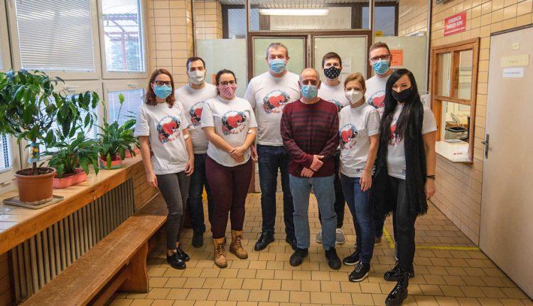 Zamestnanci Trenčianskej župy boli darovať krv