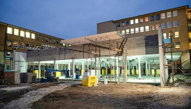 V považskobystrickej nemocnici napreduje výstavba moderného diagnostického centra