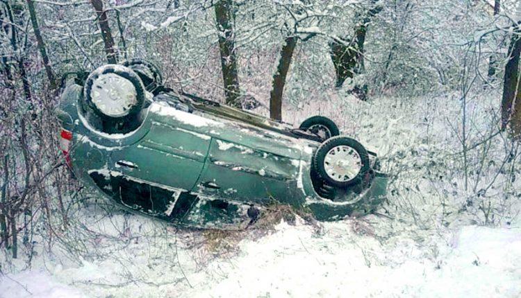 "FOTO: Vodička ""zaparkovala"" auto na strechu"