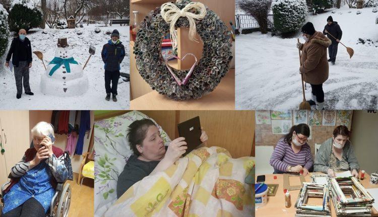 Klientov púchovského CSS – Kolonka potešila snehová nádielka