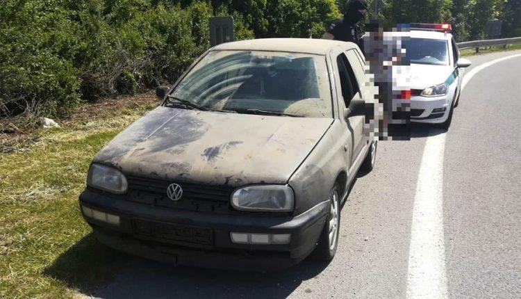 FOTO: Jazdil na aute bez značiek a pod vplyvom drog