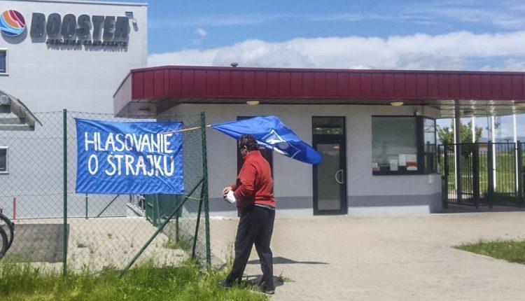 V strojárskej firme v Beluši začal ostrý štrajk!