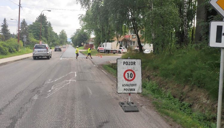 Rekonštrukcia ciest v kraji napreduje rýchlym tempom!