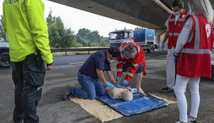 Dopravno-preventívna akcia so Slovenským červeným krížom potrvá do piatka