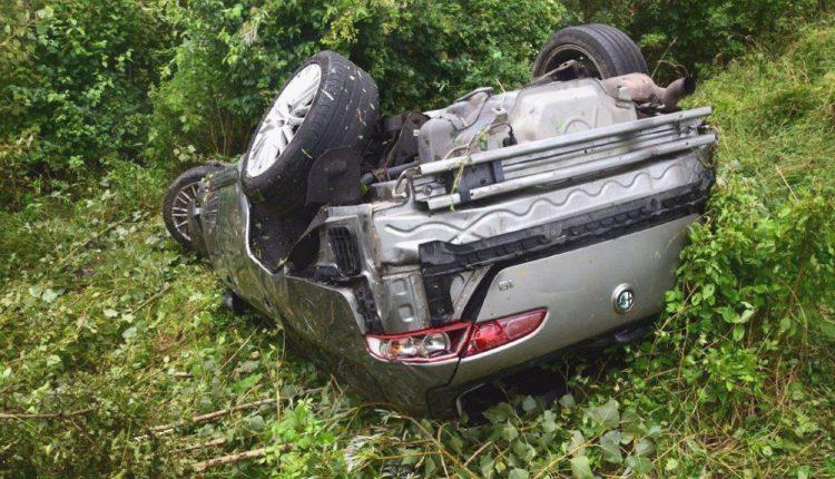 FOTO: Tragická nehoda na diaľnici, vyhasli dva ľudské životy