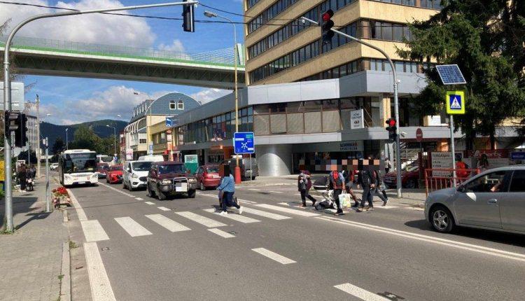 Nový semafor v Považskej Bystrici